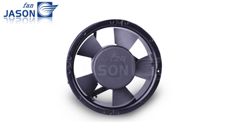 170x170x52mm Large Air Flow Industrial High Pressure Axial Flow Fan