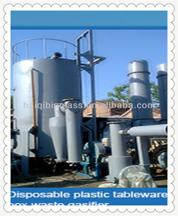 Full automatic Top quality outdoor not need fuel biomass gasification power plant for sale