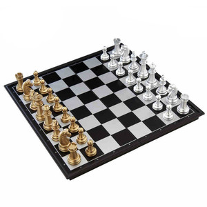 Intelligent wooden board cartoon chess game set magnetic game set chess
