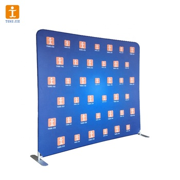 fabric banner stand advertising display exhibition trade show,pop up banner display