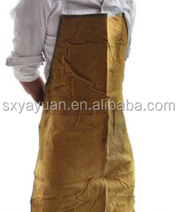 Security & Protection Durable Leather Welding Long Coat Apron Protective Clothing Apparel Suit Welder Workplace Safety Clothing Skilful Manufacture