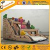 China inflatable slide PVC castle inflatable water slides A4012