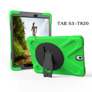 For Samsung Galaxy Tab s3 9.7 rugged defender case with 360 rotate strong stand