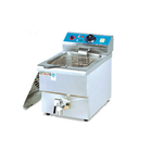 Commercial Industrial Kitchen Equipment Counter Top Electric 1 Tank 1 Basket Ventless Churros Frymaster Chips Fryer