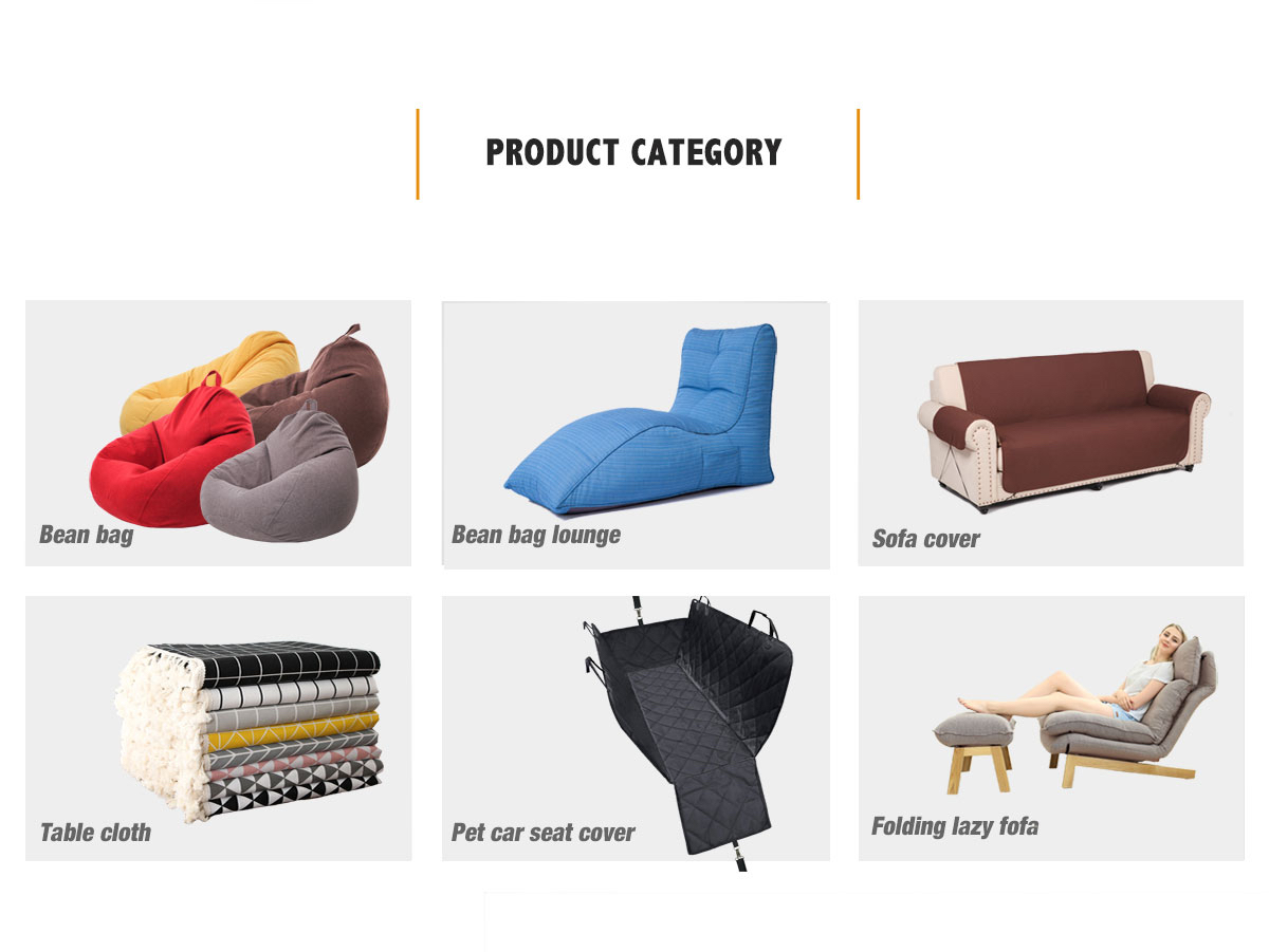 Grande Bean Bag Capa De Cadeira Sofá Sofá Indoor Outdoor Lazy Espreguiçadeira Crianças Adultos Usa