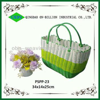 Whole Plastic Woven Beach Bag