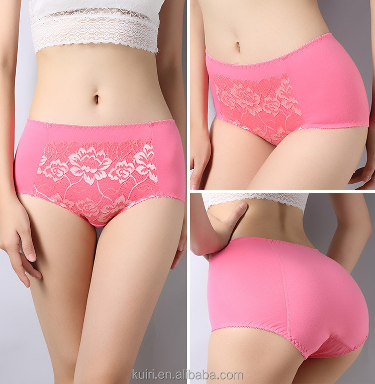 Cotton Women Physiological Panties with pocket Women's underwear high waist Menstrual Sanitary Period Leak Proof bamboo Panty
