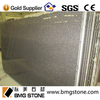 China iundra brown granite wall stone design