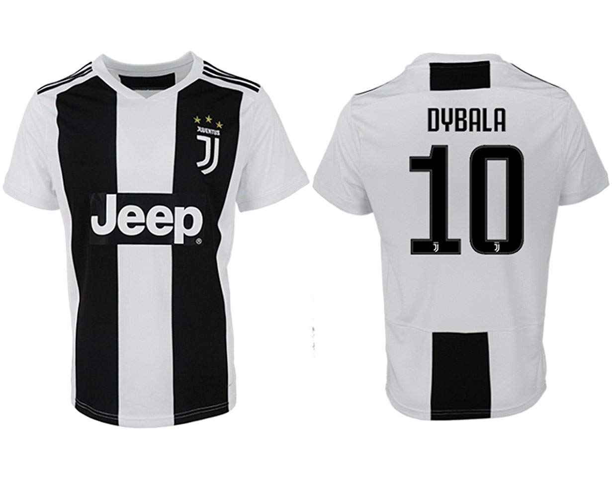1987a4f4b Get Quotations · Juventus Dybala   10 Soccer Jersey 2018 2019 Home Men s  Jersey