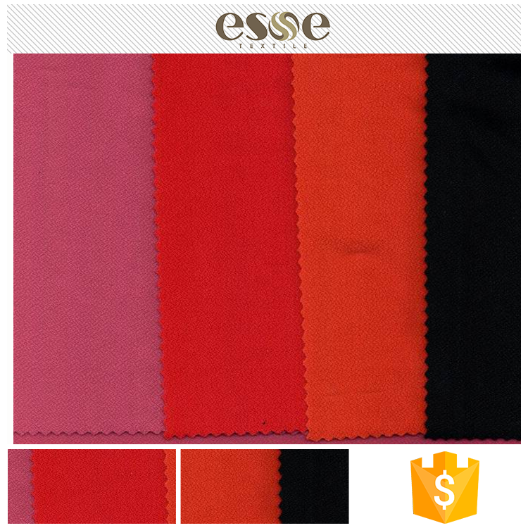 Professional Manufacturer Supplier Top Quality Korea Polyester Moss Crepe Fabric