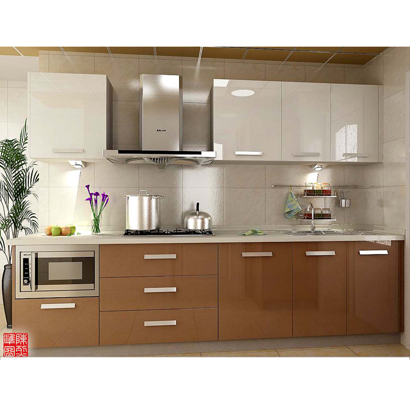 Easy Fitted Acrylic Kitchen Cabinet Designs For Small