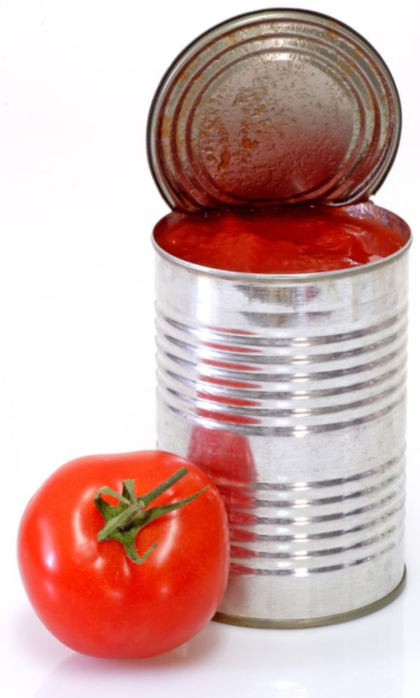 High quality canned whole peeled tomato 425g