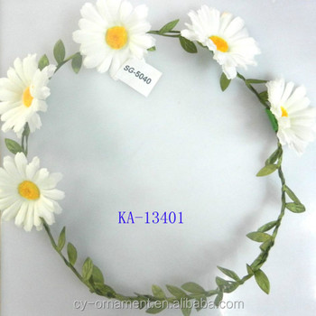 White daisy flower garland headband hair garland buy hair garland white daisy flower garland headband hair garland mightylinksfo