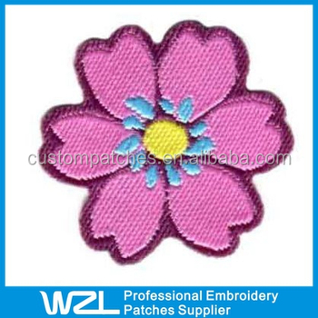 Custom Embroidery Patches For Blousesapplique Embroidery Flower