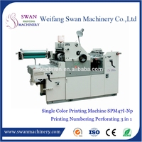 China manufacturer two colors offset press printing machine for sale