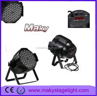 Event Light & Production for wedding Party Dj 54*3w RGBWA bright led par lights
