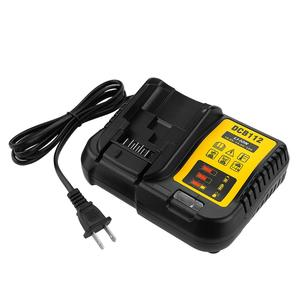 Li-ion 10.8V 14.4V 18V 2A Lithium battery Charger Replaceable for Dewalt DCB112 DCB015 DCB105 Power Tool Battery Charger