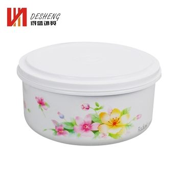 Chinese Style 5Pcs Set Kitchen Safe Material Plastic Bento Lunch Box