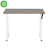 Foshan manual sit-stand desk adjustable height table legs lifted by hand crack India office & study sit standing desk converter