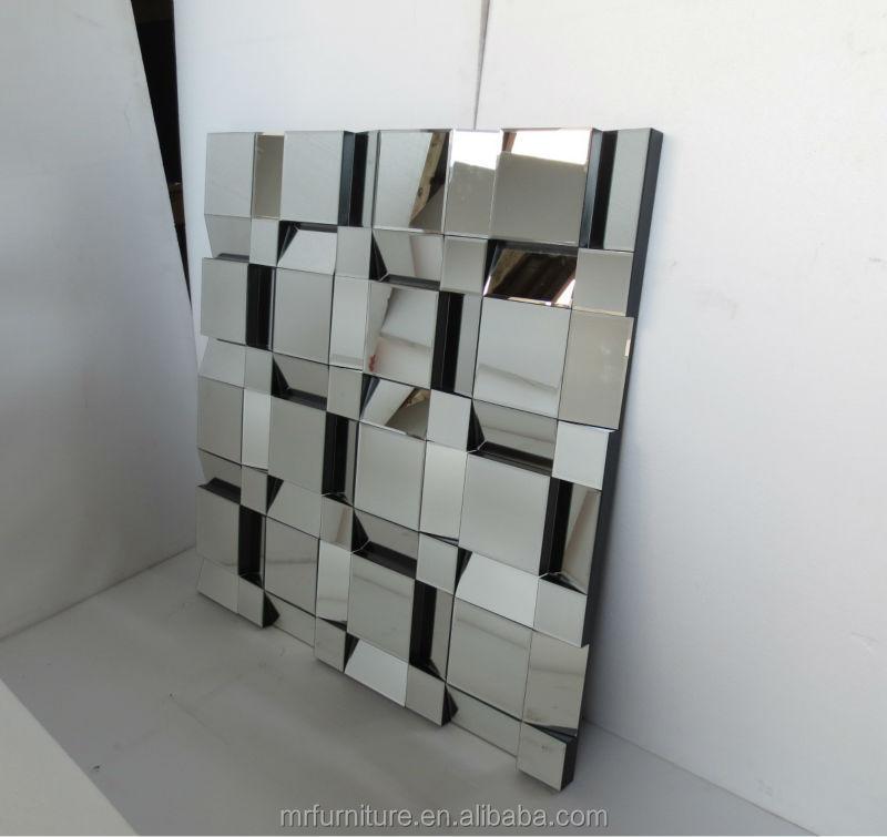 Gran espejo de la pared faceta para comedor espejos ...