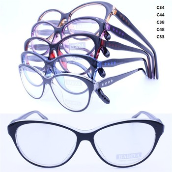 Drop Ship Injection Acetate Prescription Cateye Shape Gradient ...