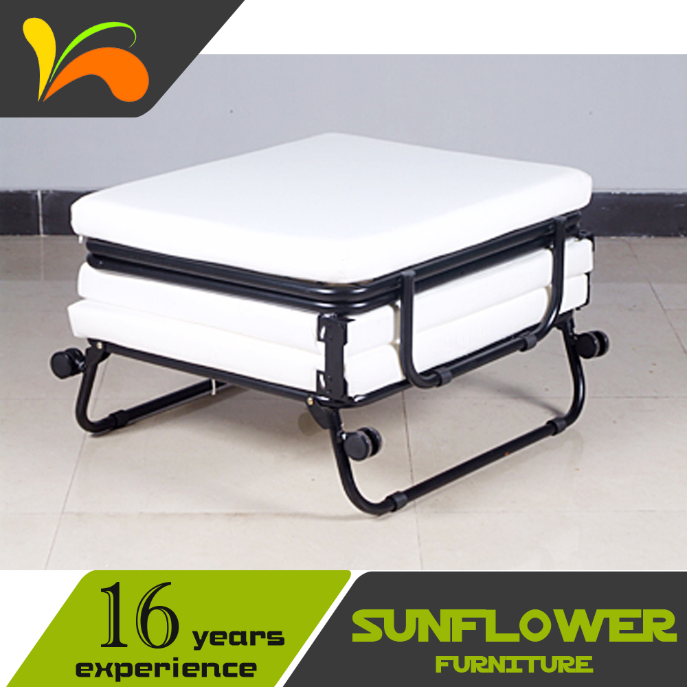 - Rollaway Folding Bed For Hotel Extra Ottoman Cum Bed - Buy