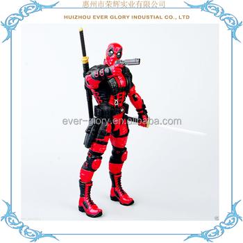Movie Spiderman Batman Deadpool Action Figurine