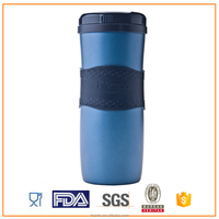 Double wall stainless steel mug hot water bottle coffee mug hot and cold water bottle
