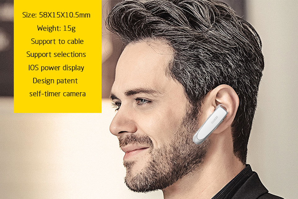 Amazon top Wireless earbuds Noise Cancelling Earphones Hands Free In-Ear Style with Microphone for Driving