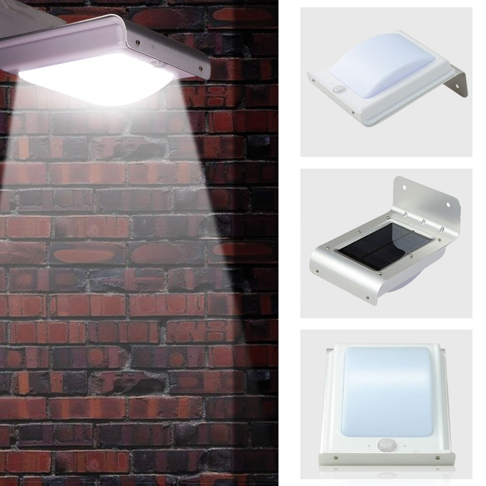 Aspiring 20led Waterproof Abs Solar Powered Motion Sensor Lamp Outdoor Garden Fence Landscape Lamp Stair Yard Light Wall Lamp Security & Protection