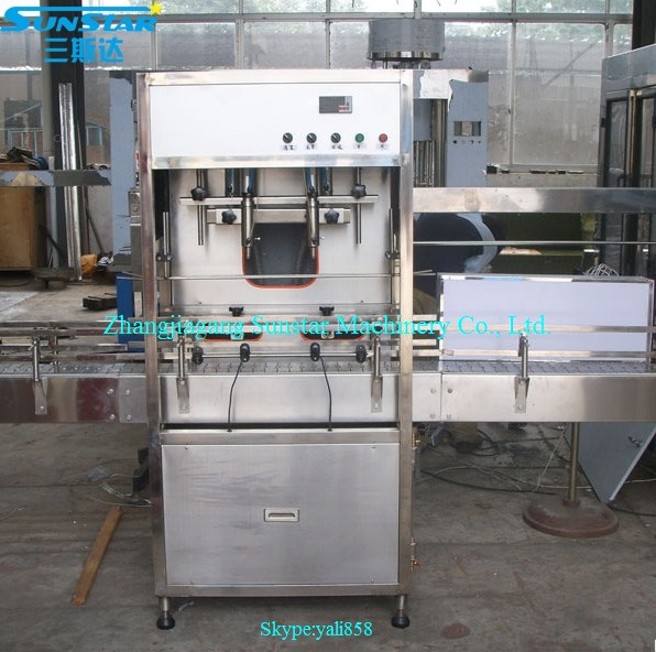Automatic linear type oil piston filler 2 head 5000ml for olive cooking sunflower oil in bottle barrel or jar can