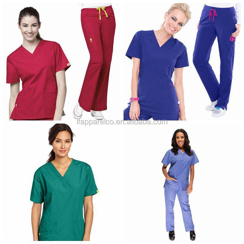137c92b5df5 Medical Scrub/scrub Suit/nurse Hospital Uniform Designs - Buy Nurse Scrubs  Suits For Women,Scrub Suit Design,Fashionable Nurse Uniform Designs Product  on ...
