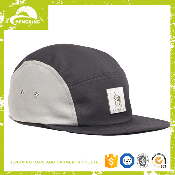 Hengxing factory made cheap custom 5 panel hat and cap