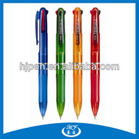 COMPETITIVE PRODUCTS Cheap Price Promotional Plastic Pen,3 Color Ball Pen