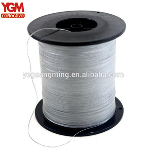 High Quality Embroidery Thread Hand Knitting Reflective Yarn