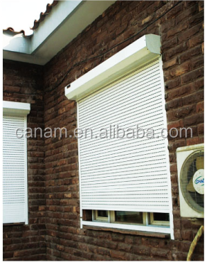 roller shutter for metal roll up windows