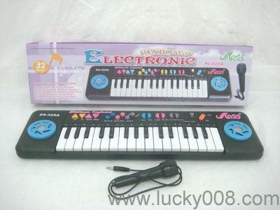 Educational Toy 32 Keys Electronic Organ Keyboard With Microphone
