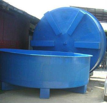 Fibra de vidrio estanque koi fibra piscicultura tanque for Estanque fibra de vidrio