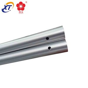 Alloy 7001 telescopic aluminum tarp pole seamless tube & camping flexible 7000 series aluminum tent pole manufacturers