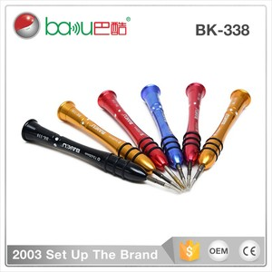 Baku Hot Sale Mobile Tools Oval Head Screw Driver For Iphone