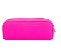 Candy-colored Silicone Pencil Case Zipper Pen Bag Multifunctional Handbag School Supplies Cute Stationery Cosmetic Pouch