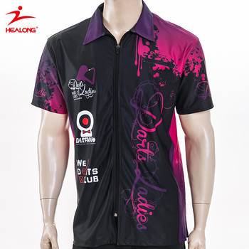 Breathable Anti-wrinkle Full Dye Sublimation Polo Shirt 86a4dfd669