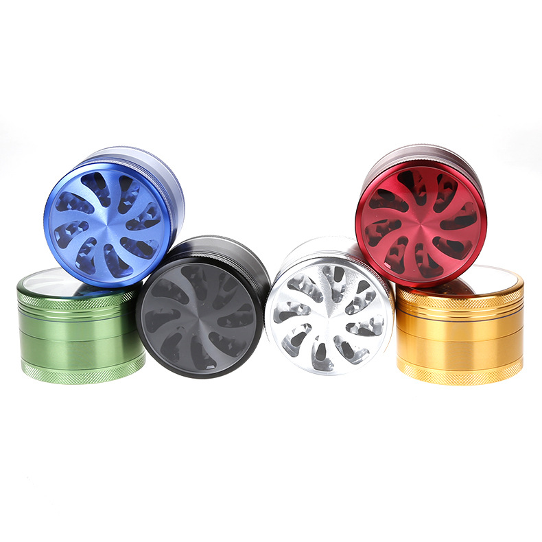 4 Layers Metal grinder herb Amazon Best Selling Smoking Accessories weed grinder tobacco grinder