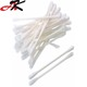 Disposable colorful double tip 6 inch wooden cotton buds
