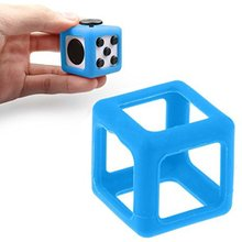 2017 Multifunation Desk Toy Activity Fidget Cube Mesh And Marble Fidget Toy