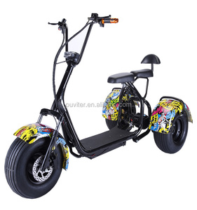 New Design electrical scooter 3 wheel citycoco motorcycles used bicycle bike scooter(C11)