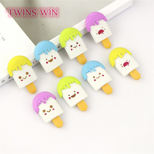 2018 kawaii stationery japanese ice cream type erasers for kids