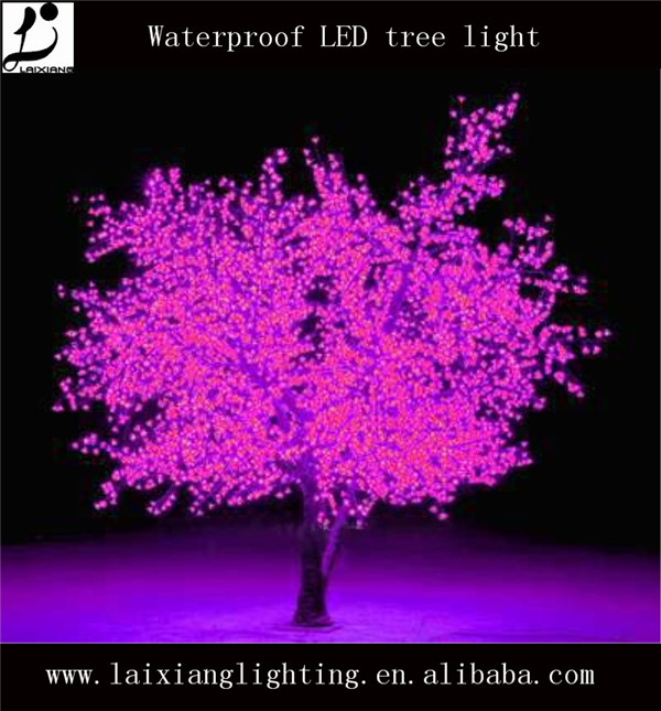 Pink H 4 3m Baixing Led Trees Wedding Chinese Maple Tree