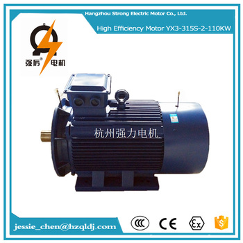 110kw 150hp tefc ac widely used asynchronous electric for Buy used electric motors