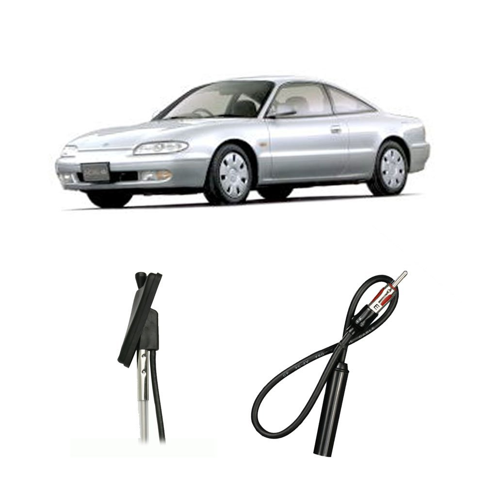 Cheap Mazda Mx6 Rims Find Deals On Line At Alibabacom Wiring Harness Get Quotations 1986 1992 Factory Oem Replacement Radio Stereo Custom Antenna Mast